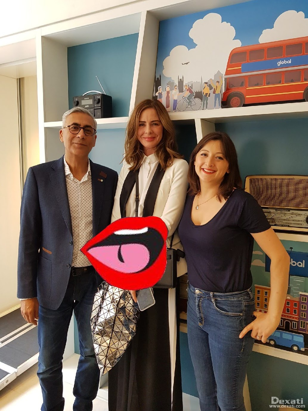 Trinny Woodall and Shabir Daya: Supplements