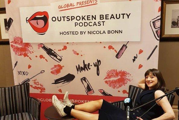 Nicola and Outspoken Beauty branding