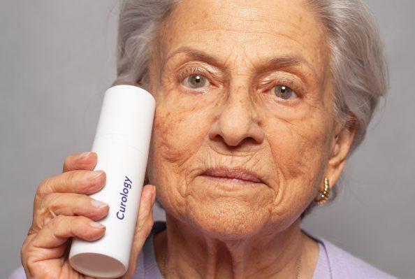 anti anti-ageing elderly woman